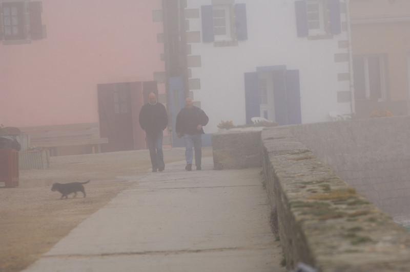 Jour de brume  ( Paul-Yves et Jean-Noel)