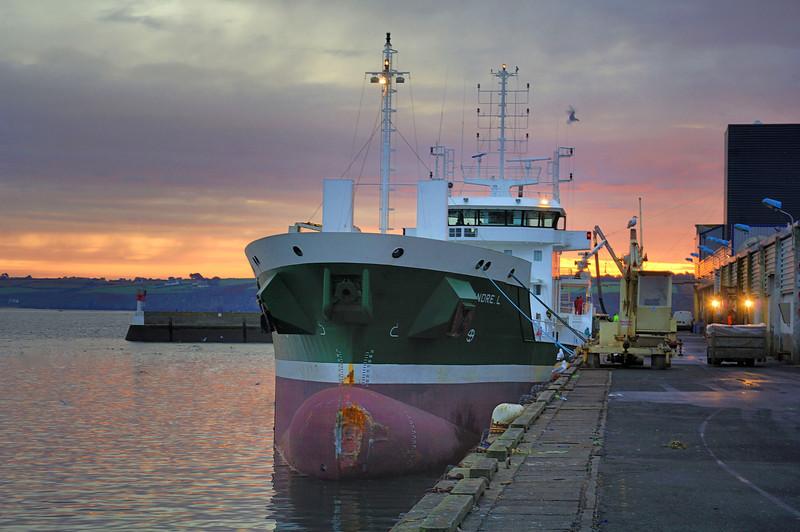 Irish Trawler ( Douarnenez , Brittany , France )