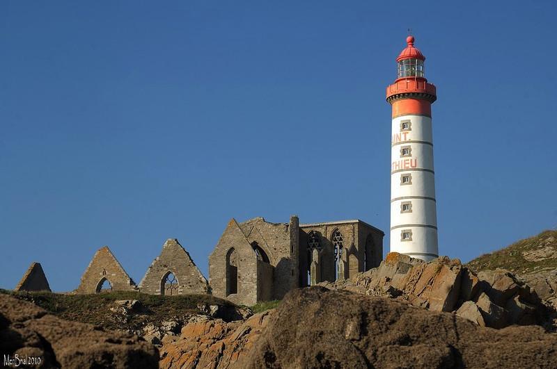 Abbaye et phare ( St Mathieu)