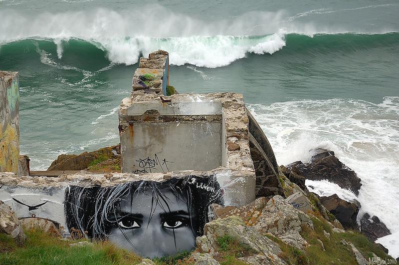Can you Sea ? ( Liliwenn ) ( Pour voir l'artiste au travail realisant cette oeuvre allez sur le site  liliwenn.com )