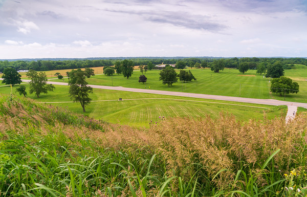 On top of Cahokia Mounds State Historic Site