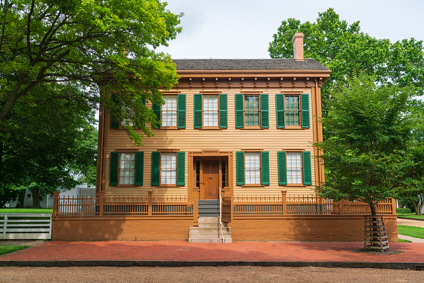 Lincoln Home at his National Historic Site