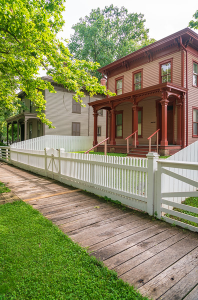 Lincoln Home National Historic Site, Springfield Illinois