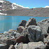 N3828 Rocks and Azure colored lake-34