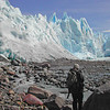 Hiking Toward Perito Merino Glacier