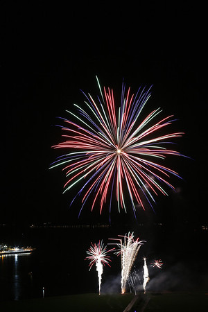Greenock Annual Fireworks Display 2012
