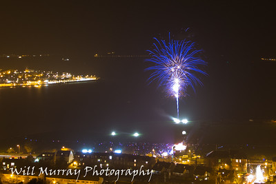 Greenock Fireworks Display 2014