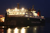 Caledonian MacBrayne ferry, Isle of Lewis berthed in Stornoway.