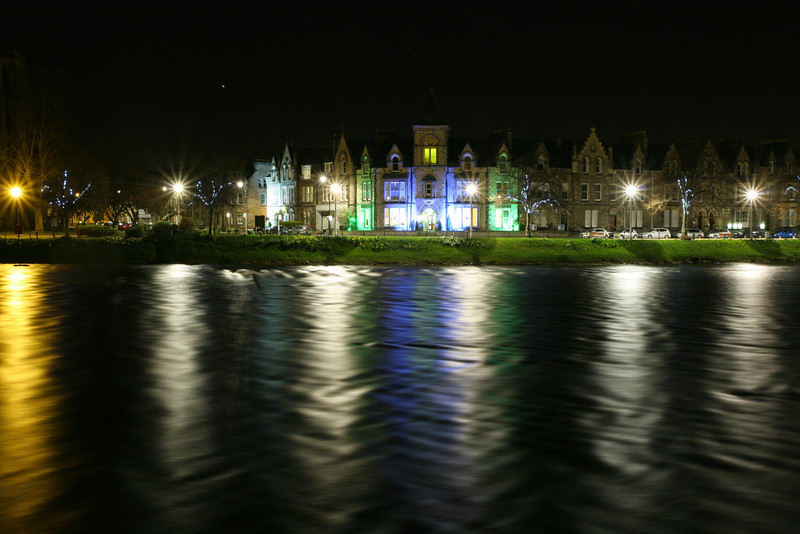 River Ness, as it runs through Inverness.