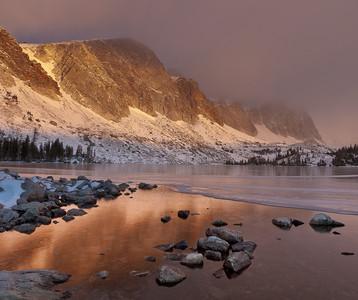 Ridgeline from Lake Marie, Snowy Range, Albany County, WY 2011 © Edward D Sherline