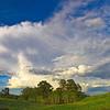 Clouds, Happy Jack, Albany County, WY  2009<br /> © Edward D Sherline