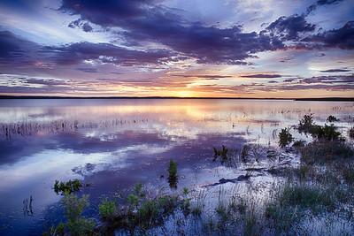 Goldeneye Reservoir, Natrona County, WY  2015 HDR image © Edward D Sherline