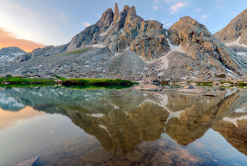 Sulpher Peak, Wind River Range, Sublette County, WY 2013<br /> HDR image<br /> © Edward D Sherline