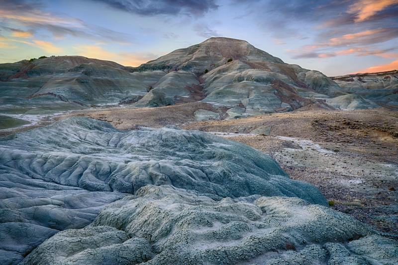 Sunday Morning Badlands, Uinta County, WY 2015<br /> HDR image<br /> © Edward D Sherline