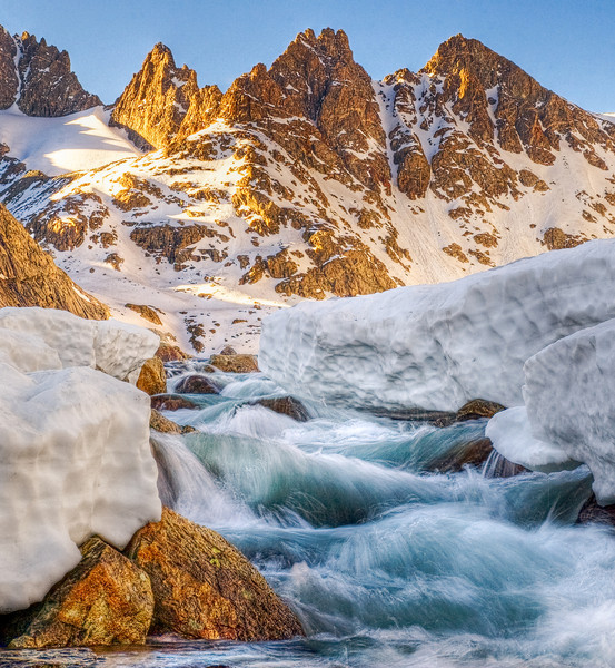 Three Peaks, Wind River Range, Sublette County, WY 2010<br /> © Edward D Sherline