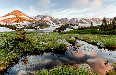 Sugarloaf Mountain, Snowy Range, Albany County, WY 2009 © Edward D Sherline