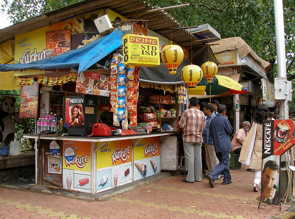 Mumbai snack stand number two.