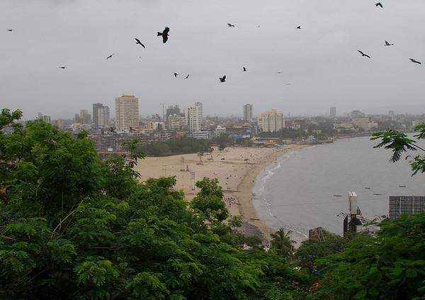 Mumbai, Back Bay beach.