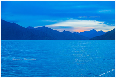 Pangong Tso at Sunrise (5:30 AM) | Shot in Chilling Cold