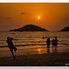 mybioscope > Reaching out - Palolem Beach at Sunset time! (Kankon Island in the background)