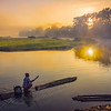 Sailing Into The Sunrise - Kaziranga National Park, Assam, North-Eastern India