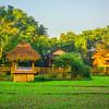 Morning Streaks Across The Diphlu River Lodge Kaziranga National Park, Assam, North-Eastern India