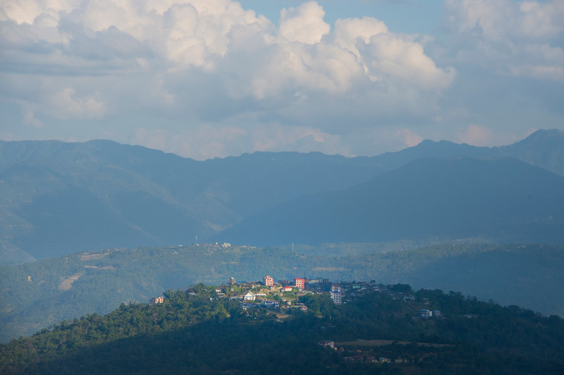 Kohima Villages Perched On The Hills - Kohima, North-Eastern India