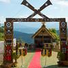 Overlooking The Nagalnd Ceremonies - Kohima, North-Eastern India