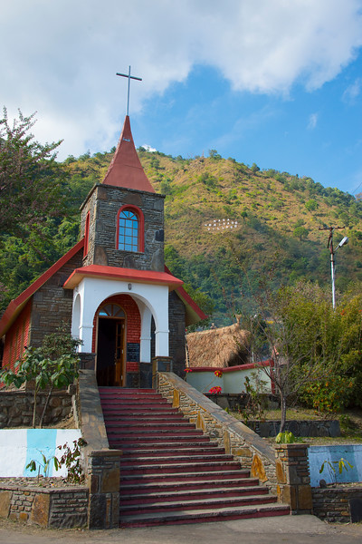 Steeple Of Faith In Kohima - Kohima, North-Eastern India