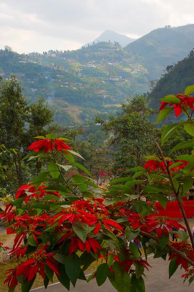 Overlooking The Valley Of Kohima - Kohima, North-Eastern India