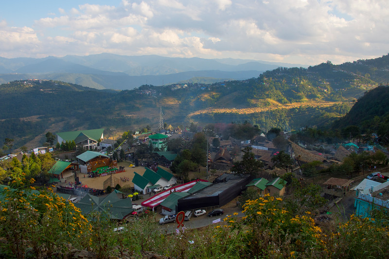 The Nagaland Festival And Surrounding Hills - Kohima, North-Eastern India