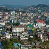 Overlooking Kohima - Kohima, North-Eastern India