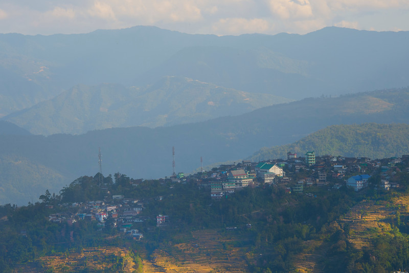 Last Light On The Kohima Villages - Kohima, North-Eastern India