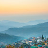 Mist Rises In The Distant Hills Of Kohima - Kohima, North-Eastern India