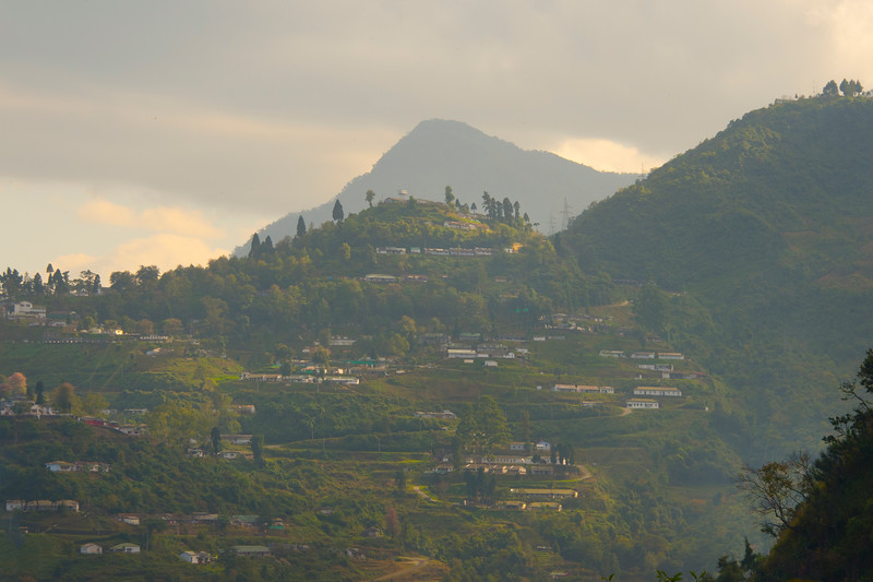 The Top Of The Kohima Valley - Kohima, North-Eastern India