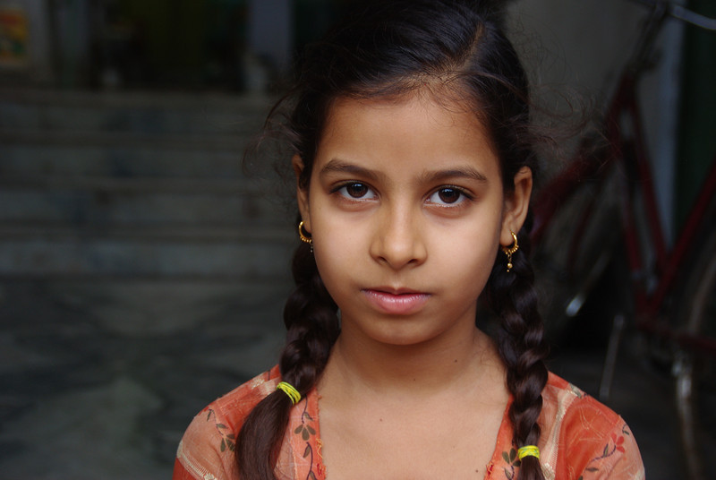 Young girl in Udaipur