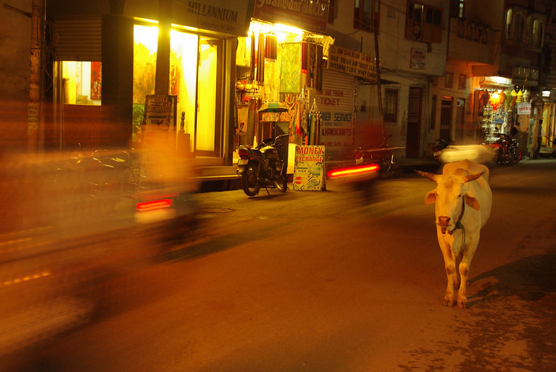 Traffic in incredible India