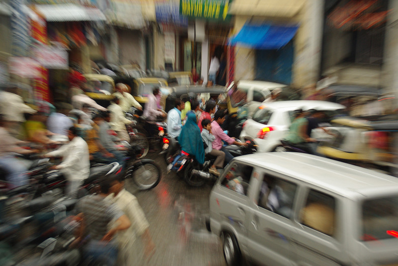 The busiest street in the world Udaipur