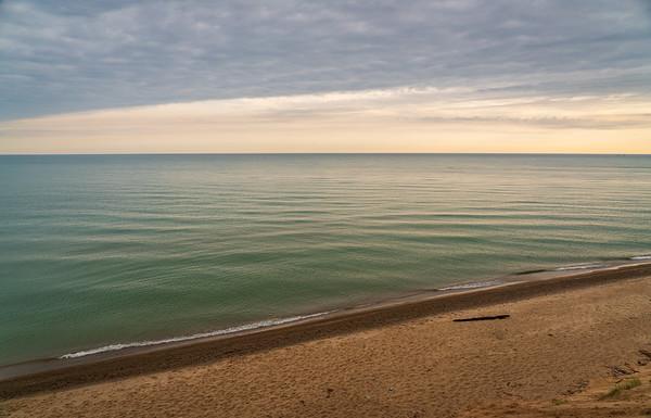 Coastline at Indiana Dunes National Park