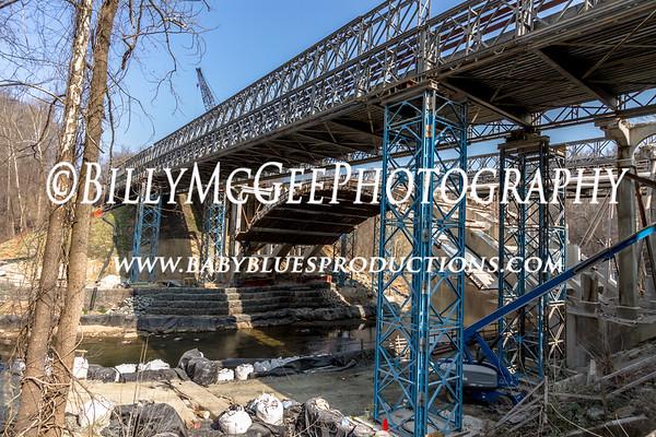 Route 40 Bridge - 17 Mar 12