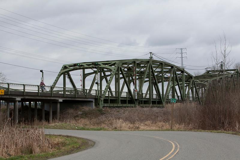 Northbound Snohomish Bridge