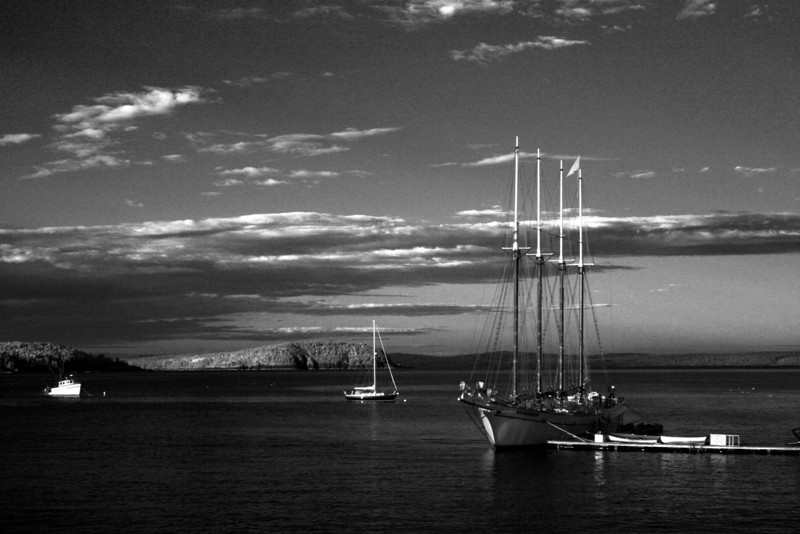 'Windjammer'  at Bar Harbor