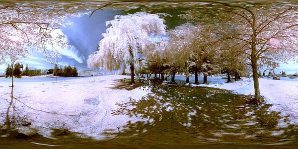 Equirectangular Goose Pond