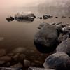Rocks in Jordan Pond, Acadia