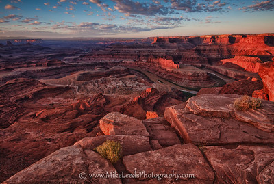 Deadhorse Point near Moab Utah.