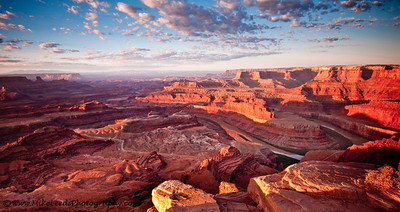 Deadhorse Point near Moab Utah