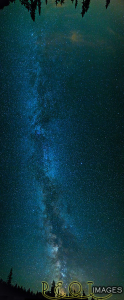 Milky Way North to South