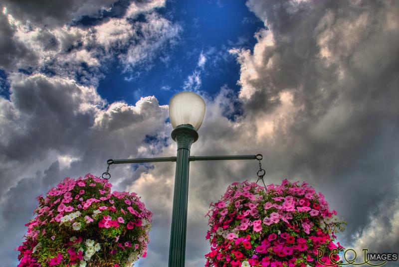 Puyallup park Lamp post.