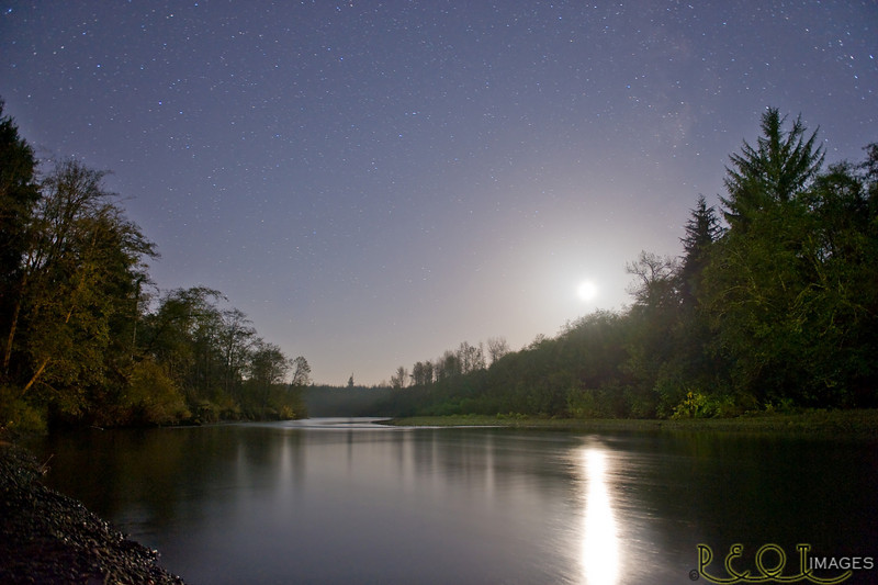 October night on the Humptulips River.<br /> _D3C8514 RT