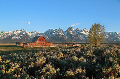 Mormon Barn #1 Grand Tetons NP
